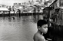 Junge am Saigon-Fluss - Ho-Chi-Minh-City - Vietnam von captainsilva
