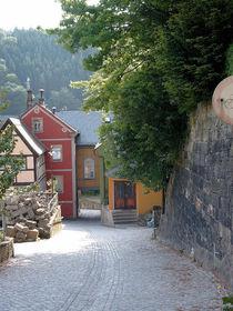 Steiles Sträßlein im Nationalpark Sächs. Schweiz. by techdog