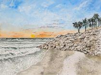 Anna Maria Island Beach by Derek McCrea