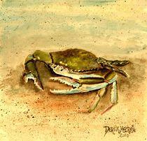 crab nautical art by Derek McCrea