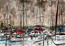sailing at night von Derek McCrea