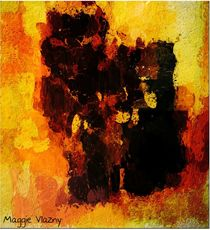 Autumn Abstract von Maggie Vlazny