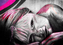 The Girl - Graffiti by Denis Marsili