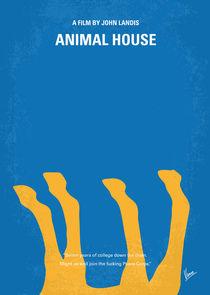 No230 My Animal House minimal movie poster von chungkong
