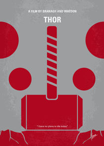 No232 My THOR minimal movie poster by chungkong