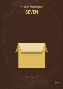 No233 My Seven minimal movie poster von chungkong