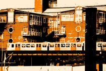 Hamburg Baumwall Bahnstation by fraenks