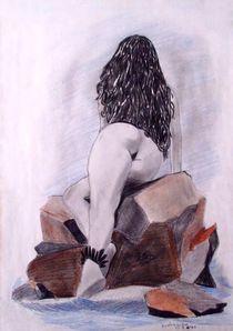 Weiblicher Rückenakt by jefroh