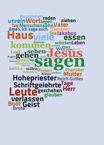 Das Evangelium nach Markus von Bibelclouds. Die Bibel anders sehen