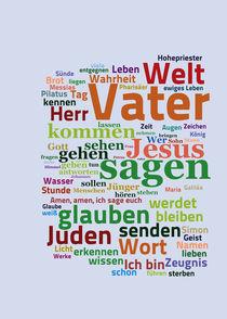 Das Evangelium nach Johannes von Bibelclouds. Die Bibel anders sehen