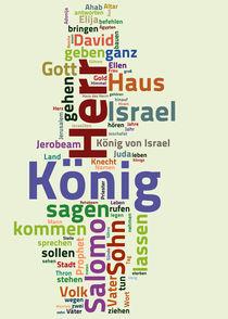 Das erste Buch der Könige von Bibelclouds. Die Bibel anders sehen