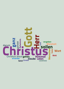 Der Brief an die Kolosser von Bibelclouds. Die Bibel anders sehen