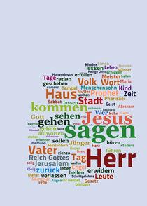 Das Evangelium nach Lukas von Bibelclouds. Die Bibel anders sehen
