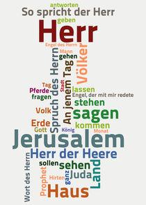 Das Buch Sacharja von Bibelclouds. Die Bibel anders sehen