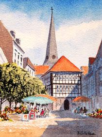 Hattingen Town Square Germany von bill holkham