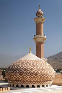 Sultan Qaboos Mosque Nizwa von Norbert Probst