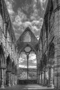Tintern Abbey in Monochrome von David Tinsley