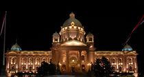 Serbian Parliament, Belgrade by Philip Shone
