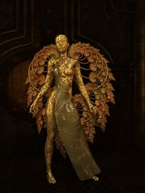The Old Metal Angel von Liam Liberty