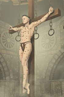 The Crucifixion 2 by Liam Liberty