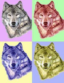 wOLF pOPaRT von Nicole Zeug