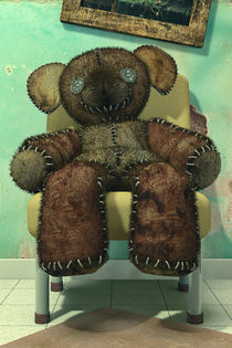 The Old and Neglected Teddy Bear by Liam Liberty