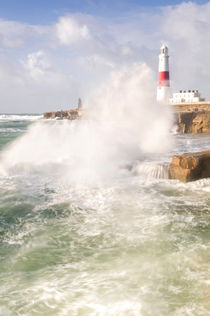 Portland Bill Storms by Chris Frost