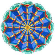 Star Power Mandala #1 von themandalalady