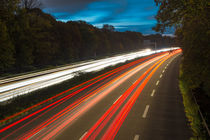 Light Trails 01 by Tom Uhlenberg