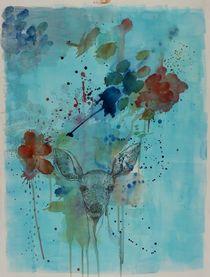 Deer by Justyna Stoszek