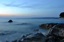 Küste im Nebel von Christian Lange