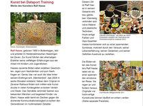 Kunstausstellung Firma Dataport HASSE -ART von Künstler Ralf Hasse