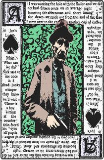 William.S.Burroughs. The Ace Of Spades von brett66