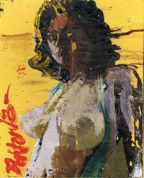 Brunette Yellow by Paul Ashton