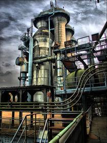 Industriepark Duisburg Hochofen von Thomas Zimberg