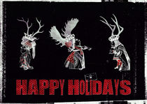 Happy Holidays von Sybille Sterk