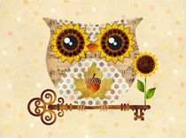 Owl's Autumn Song von Sandra Vargas