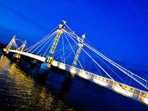 The Albert Bridge London von David Pyatt