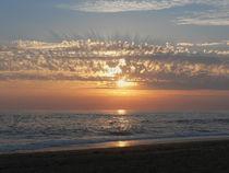 Sonnenuntergang am Meer, Sunset on the sea von Sabine Radtke