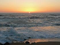Sonnenuntergang am Atlantik, Sunset on the sea von Sabine Radtke