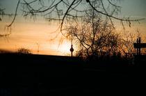 Sonnenuntergang Berlin von Henning Hollmann