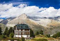 Villa Cassel in den Schweizer Alpen Riederalp Schweiz von Matthias Hauser