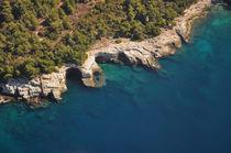 Kap Kamenjak, Istrien, Kroatien, Luftaufnahme von Mark Gassner