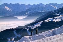 Schneeschuh-Wanderer by pichris