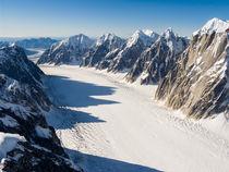 Ruth Glacier Great Gorge, Alaska Range, Denali NP von Tom Dempsey