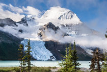 Mount Robson, Berg Glacier, Canadian Rockies, BC by Tom Dempsey