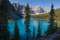 Moraine Lake, Valley of Ten Peaks, Banff, Canada by Tom Dempsey