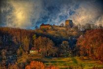 'Gichburg im Herbst ' von Bamberg Photoart