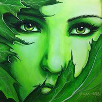 Green Face von Gerd-Uwe Geiger