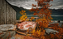 Norway autumn von photoart-hartmann